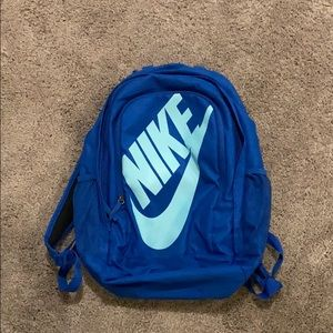 Great condition blue Nike backpack